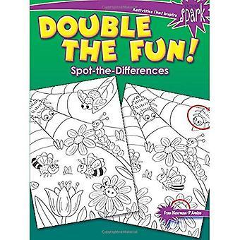 Spark dubbelt så roligt! Spot-The-skillnader