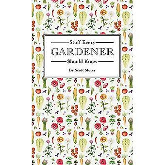 Saker som varje trädgårdsmästare bör veta