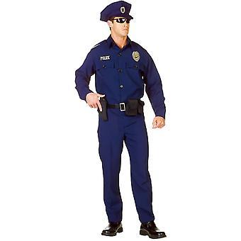 Politieagent volwassen kostuum