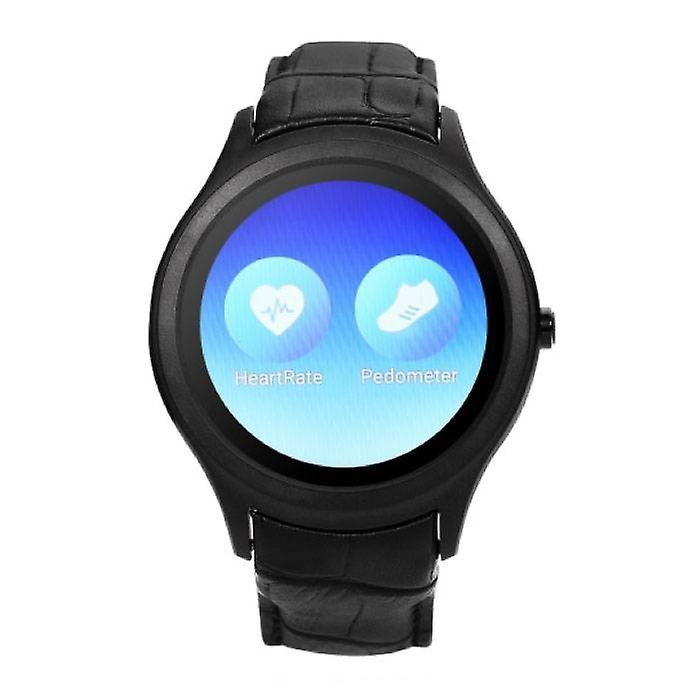 Stuff Certified ® Original D5 Smartwatch Smartphone Fitness Sport Activity Tracker Watch OLED Android iPhone Samsung Huawei Black