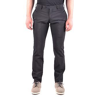 Neil Barrett Ezbc058040 Men's Black Polyester Pants