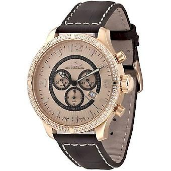 Zeno-watch reloj de gran tamaño retro Chrono Parisienne 8830Q-Pgr-h9