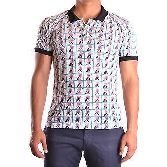 John Galliano Ezbc189014 Men's Multicolor Cotton Polo Shirt