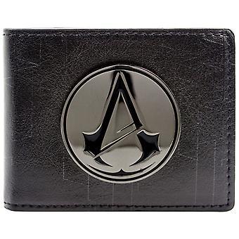Ubisoft Assassins Creed Unity Symbol Badge ID & Card Bi-Fold Wallet