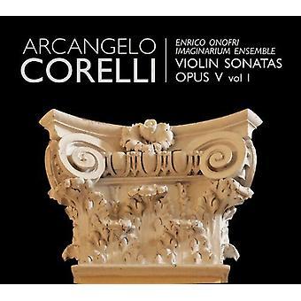 A. Corelli - Arcangelo Corelli: Violin Sonatas, Op. 5, Vol. 1 [CD] USA import