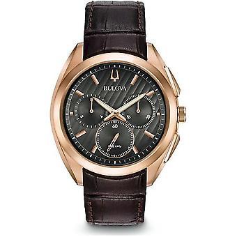 BULOVA-Curv 97A124 גברים של שעון יד הכרונוגרף