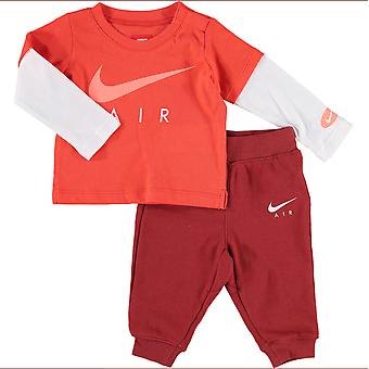 Nike Air Infant Tracksuit T-Shirt Trousers Set