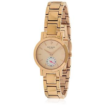 Kate Spade New York rosa dorado acero inoxidable reloj 1YRU0544