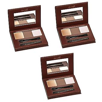Barry M 3 X Barry M Brow Kit - Light/Medium