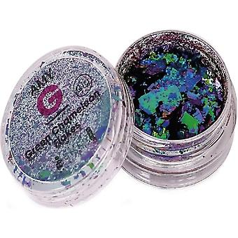 The Edge Nails Amy G - Chameleon Nail Art Flakes - Verde 0.1g (3003018)
