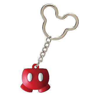 Key Chain - Disney - Mickey Icon Ball Key Ring - Mickey Pant New 85627