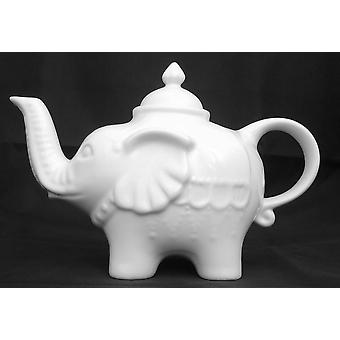 BIA olifant theepot, Wit 0,9 L