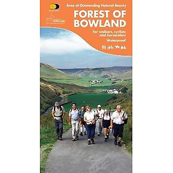 Forest of Bowland: Cycling and Walking Map