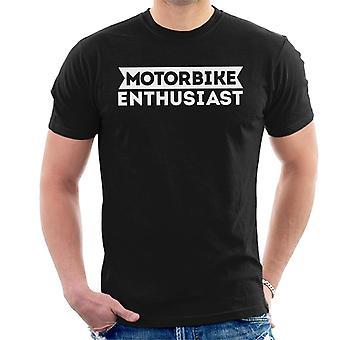 Moottori pyörä harrastaja miesten ' s T-paita