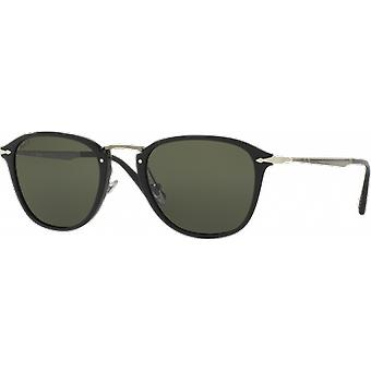 Persol 3165S Large Black Polarized Green