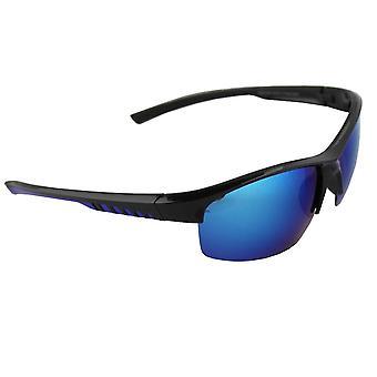 Aurinkolasit Miesten Polaroid Sport - Musta/Sininen ilmaisella brillenkokerS330_3