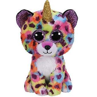 TY Boo Buddy Giselle il leopardo con Corno 23 cm