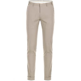 CC Kollektion Corneliani Grau Pleat Baumwollhose