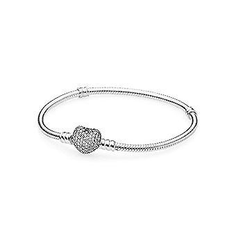 Pandora Silver bracelet 925 with white zircons 18 cm 590727cz 18