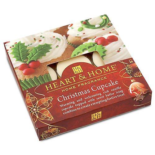 Christmas Cupcake Box of Tea Light Candles