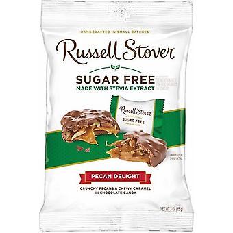 Russell Stover Шоколад сахар бесплатно пекан наслаждений