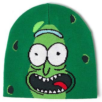 Rick & Morty mössa hatt Pickle Rick Logo nya officiella grön