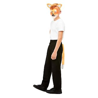 Childrens Fox ansigt maling hovedbøjle & hale