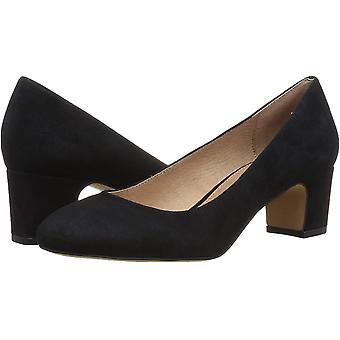 Amazon Brand - 206 Collective Women's Merritt Round Toe Block Heel Pump-Low