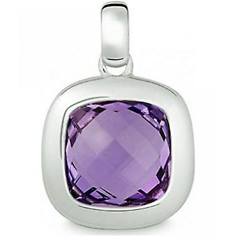 Quinn - Silver pendant with amethyst - 024898933