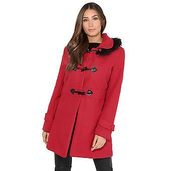 KRISP Hooded Rockabilly Duffle Coat