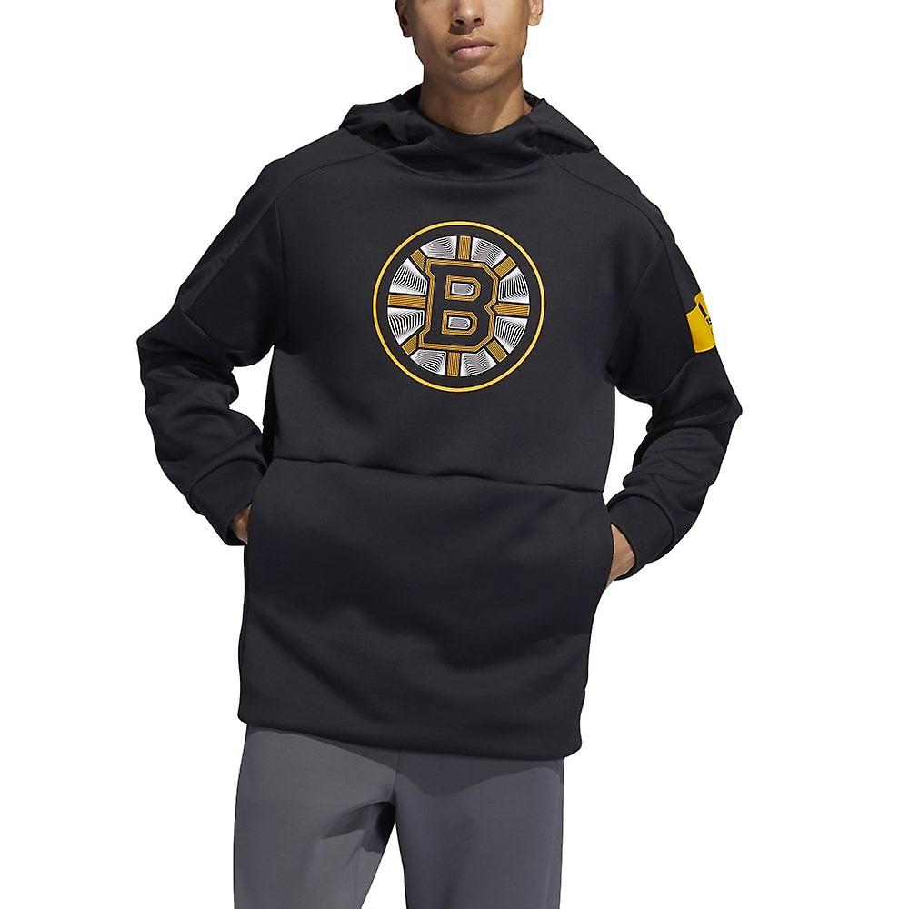 Adidas Nhl Boston Bruins Player Pullover Hood