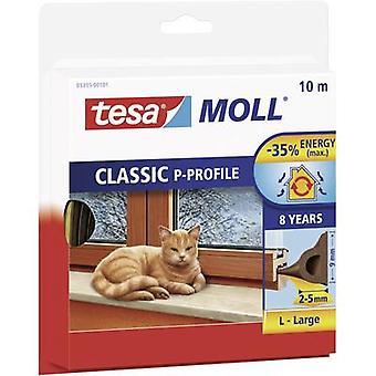 Tesamoll® P-profiilista 10 m x 9 mm ruskea
