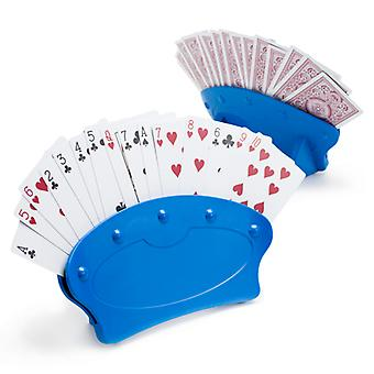 Set of Two Hands-Free Playing Card Holders