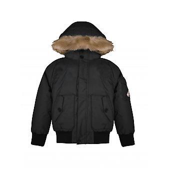 Pyrenex Kids Black Jami Parka Jacket