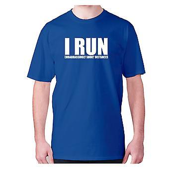 Mens Funny Gym t-paita isku lause Tee harjoitus hilpeä-juon