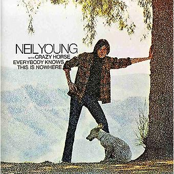Neil Young - Everybody Knows This Is Nowhere [CD] USA import