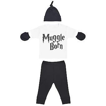 Muggle Born Baby Outfit Gift Set