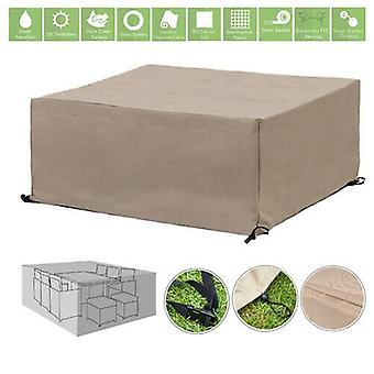 Stone 10 Seater Cube Outdoor Waterdichte Tuin Patio Meubelcover Protector