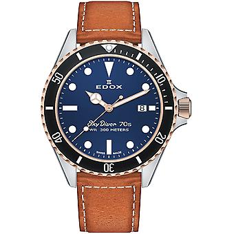 Edox 53017 357RNC BUI Skydiver Heren Horloge