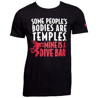 T-Shirt Fireball Whisky Dive Bar Men-apos;s