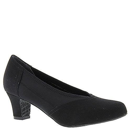 Drew Shoe Dame Helen Stoff Rund Tå Klassiske Pumper