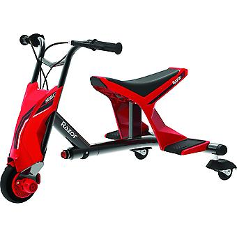 Razor Drift Rider Electric Drift Trike Red Ages 9 Anni
