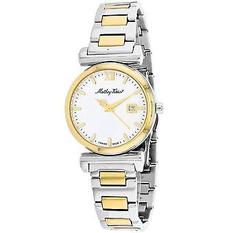Mathey Tissot Women's White Dial Watch - D410BYI