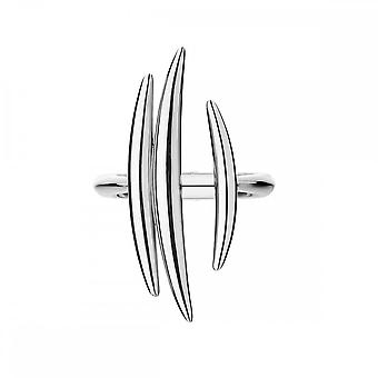 Shaun Leane Sterling Argent Quill Triple Bar Ring