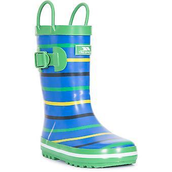 Trespass Boys Splash Ii Cushioned Pull On Wellington Boots