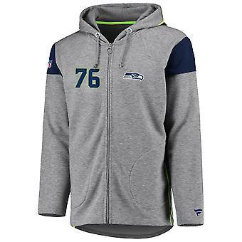 Iconic Franchise Full Zip NFL Huppari - Seattle Seahawks