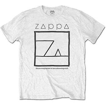 White Frank Zappa Drowning Witch Official Tee T-Shirt Mens Unisex