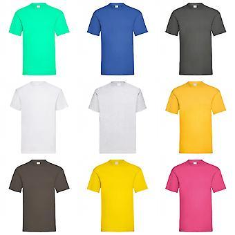 Mens Wert Kurzarm lässigen T-Shirts