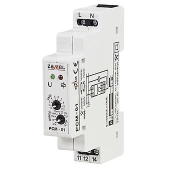 Timer Relé bryter på forsinkelse 230V AC PCM-01