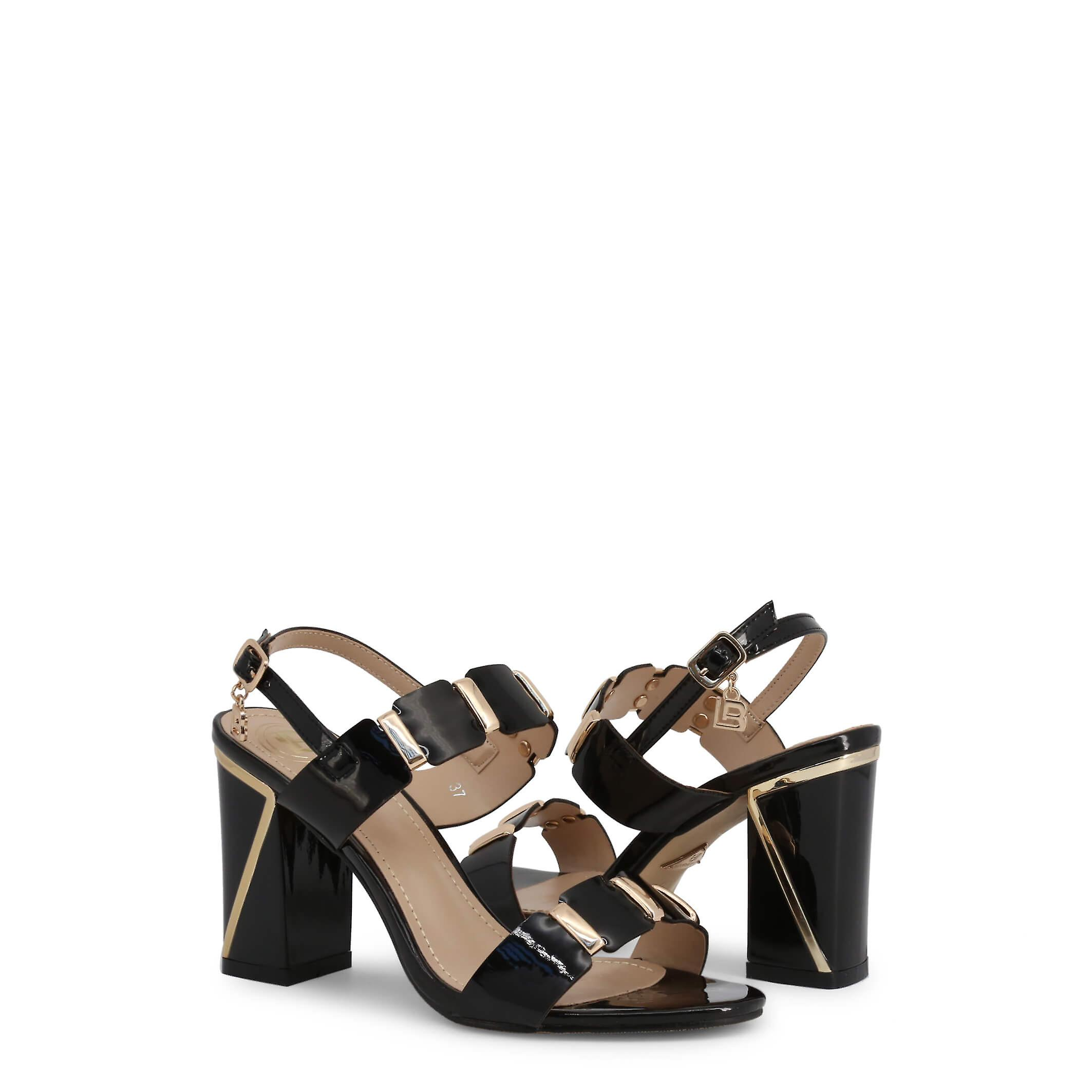Laura Biagiotti Original Women Spring/summer Sandals - Black Color 41395